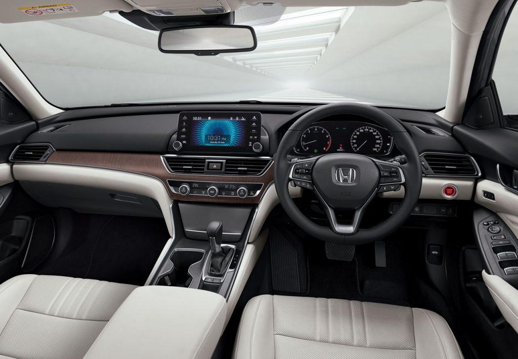 Interior All New Honda Accord 2019
